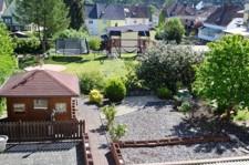 Sicht zum Garten