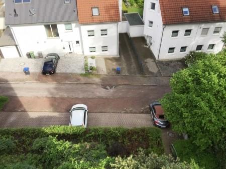 Blick auf die Straße