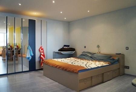 Schlafzimmer im Studio