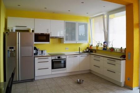 Küchenbereich im Studio