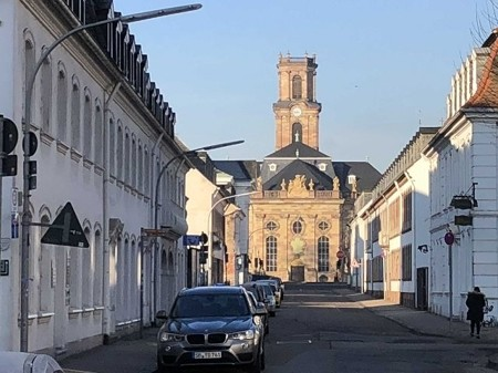 Blick Ludwigskirche