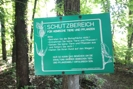 angrenzendes Naturschutzgebiet