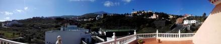 Foto von der Terrasse