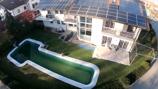 Luftansicht Villa