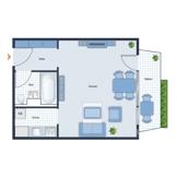 1-Zimmerwohnung