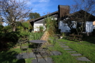 Garten mit kleiner Gartenterrasse