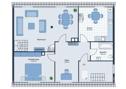 Grundriss- Wohnung