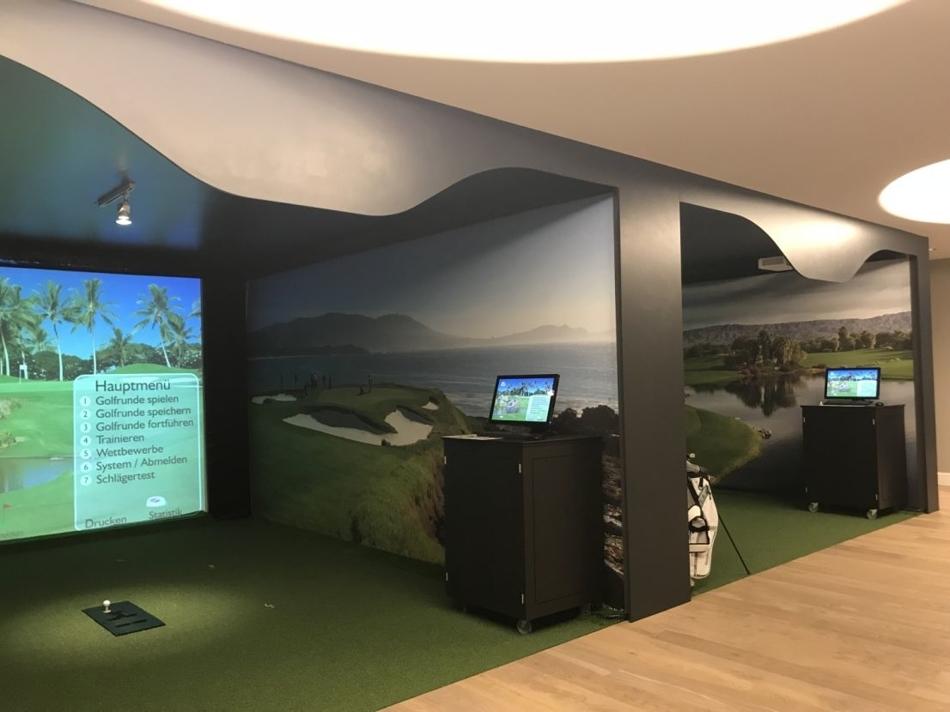 2 Golfsimulator