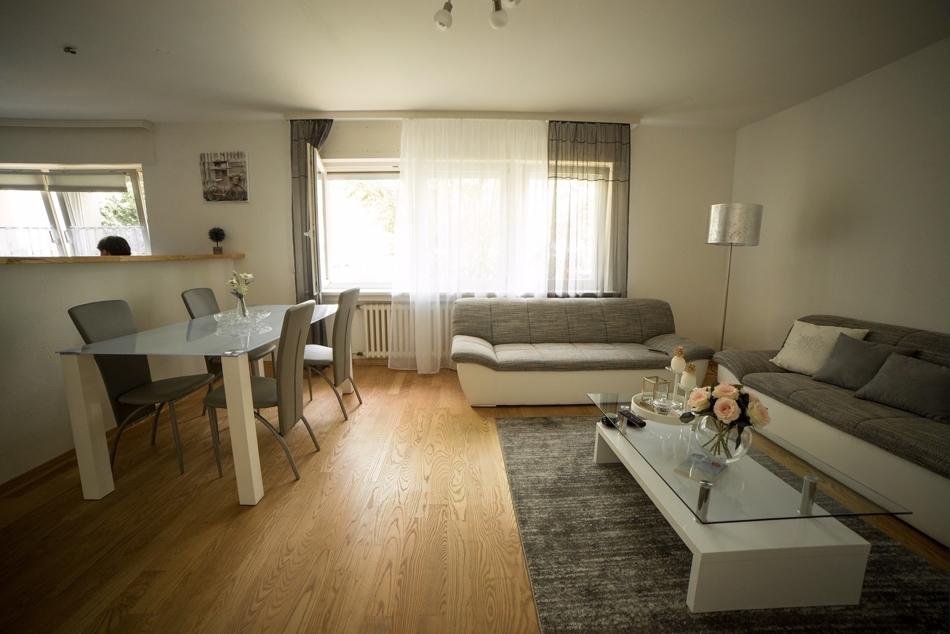 Erdgeschoss Apartment  Wohnbereich
