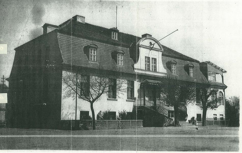 Herrenhaus Friedrichshof damals