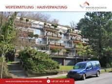 Appartment in wunderschön gelegenem Terrassenhaus in Südlage am Lousberg