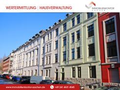 4 ZKDB Wohnung im 3. OG eines wunderschönen, sanierten Aachener Jugendstilhauses