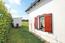 Gartenanteil am Wohnraum - geschützt von Buchenhecke