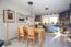 Der zum Wohnraum offene Ess-/Küchenbereich