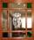 Hochwertige Türgestaltung durch holzsprossengefasstes Buntglas und sandgestrahltes Blumendekor in Klarglas