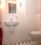 Hochwertig ausgestattetes Gäste-WC im EG