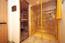 Sauna mit Doppeldusche im Souterrain