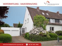 Großzügige Doppelhaushälfte mit Doppelgarage - Nähe Alsdorf Zentrum