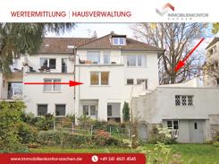 Die Wohnung EG mit Terrasse, Gartenzugang und Gartennutzung