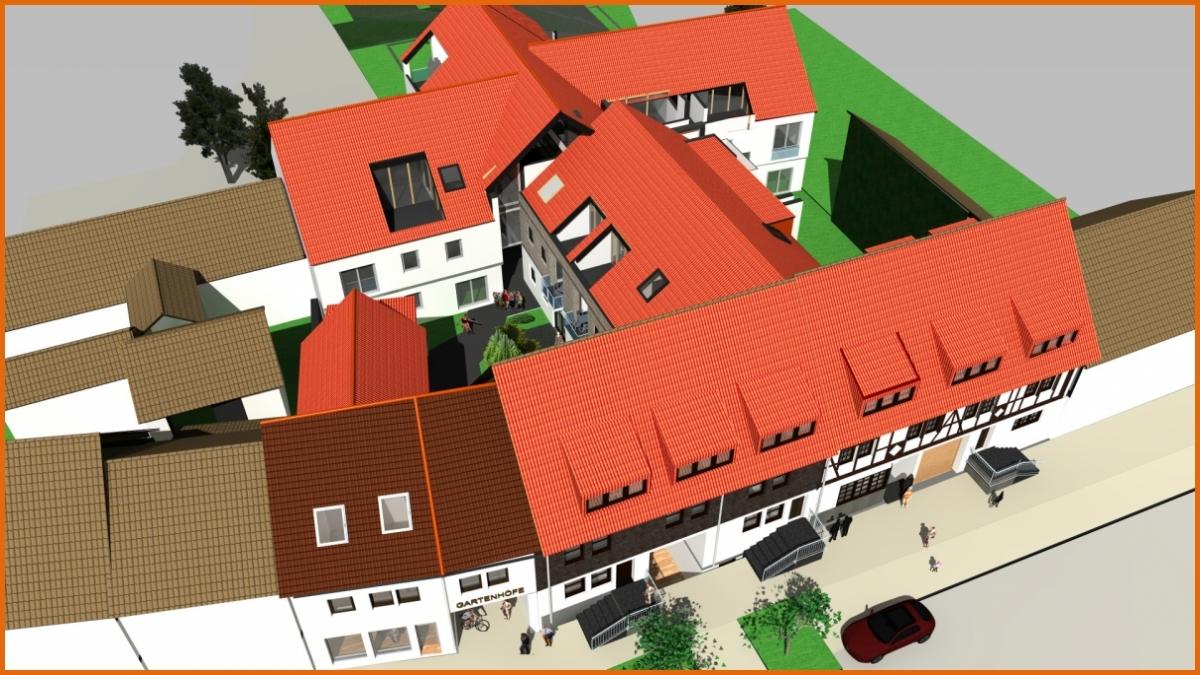Luftbild Krämerstraße