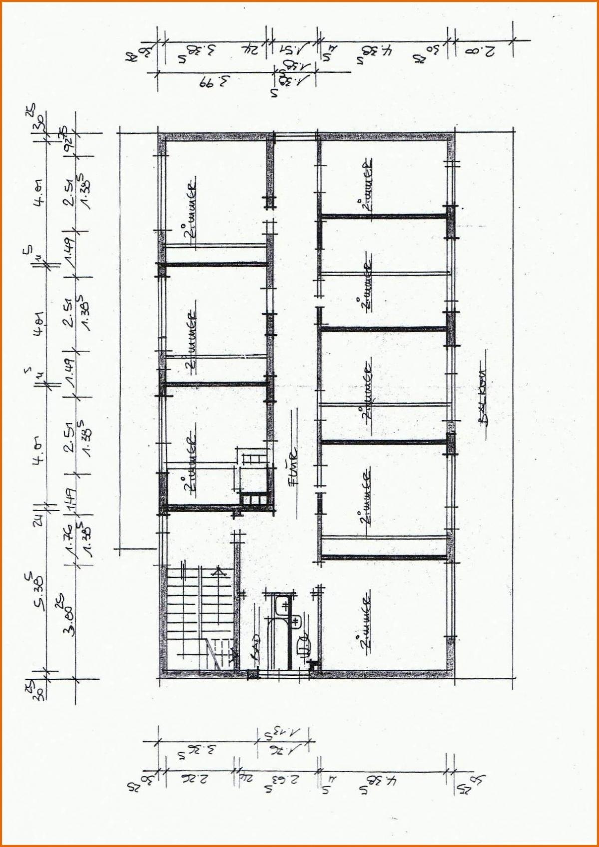 Grundriss Erster Stock