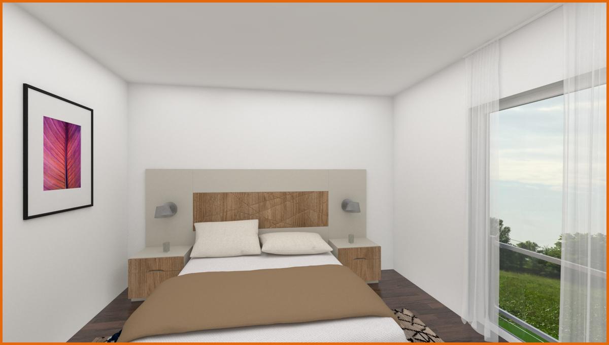 Schlafzimmer 3 D