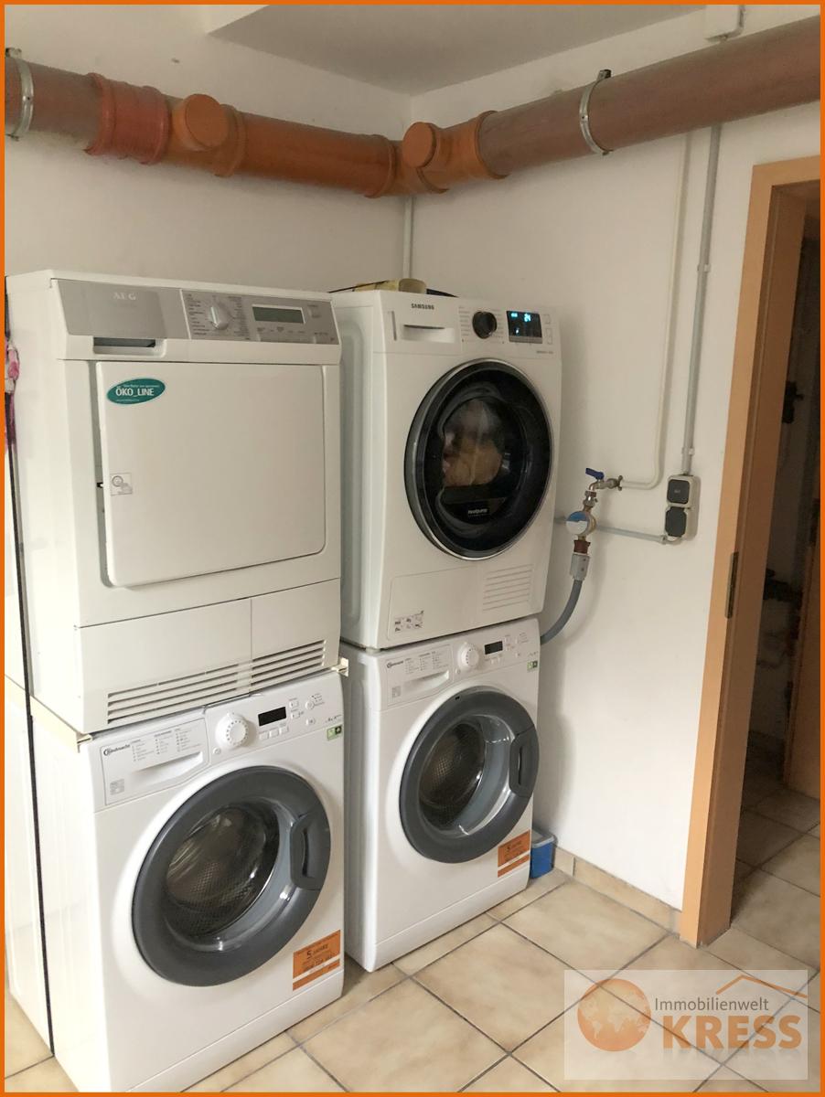 Waschmaschinenraum im Keller