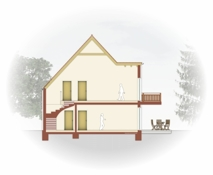 Schnitt Haus 2