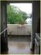 Aus der Küche auf den Balkon