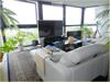 Blick vom Wohnzimmer