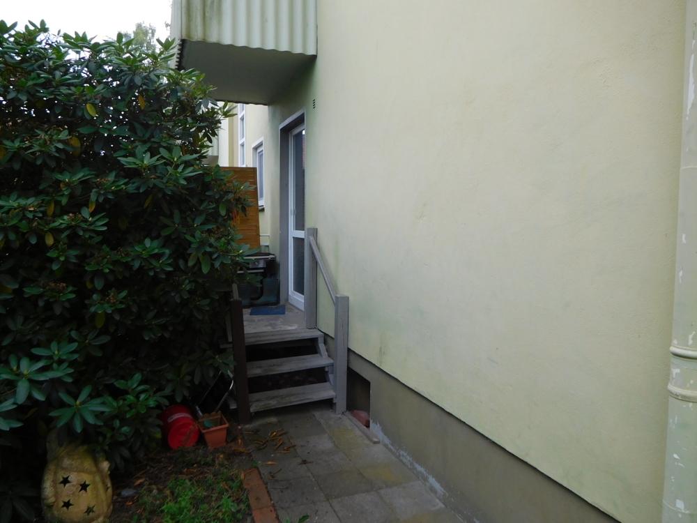 Balkon mit Aussentreppe
