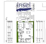 Grundriss als Bild von der Wohnung