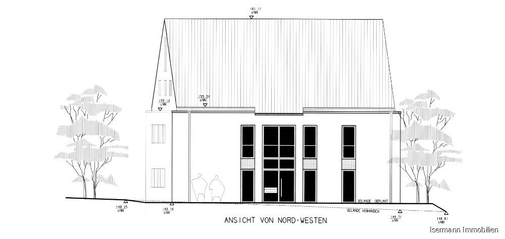 Nord/West-Ansicht