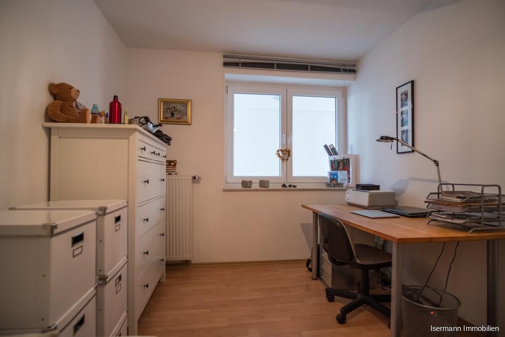 ...sowie ein weiterer Raum, der als Kinderzimmer oder Büro genutzt werden kann.