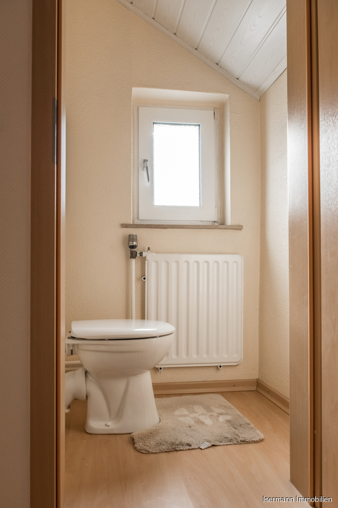 Die Immobilie verfügt über zwei separate WCs.