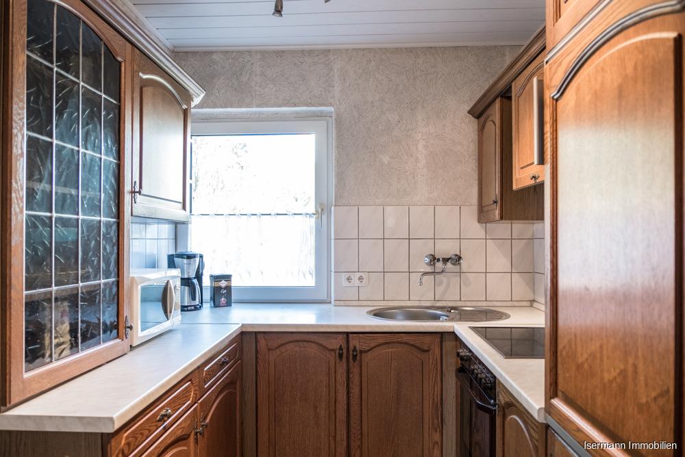 Die Küche ließe sich bei Bedarf vergrößern.