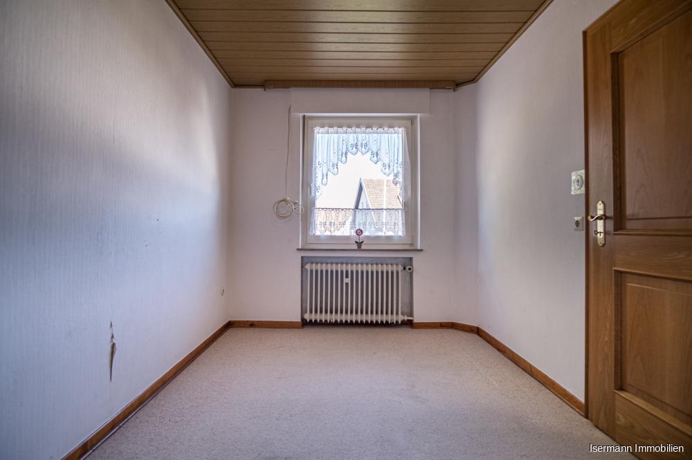 Das Kinderzimmer befindet sich im ersten Obergeschoss.