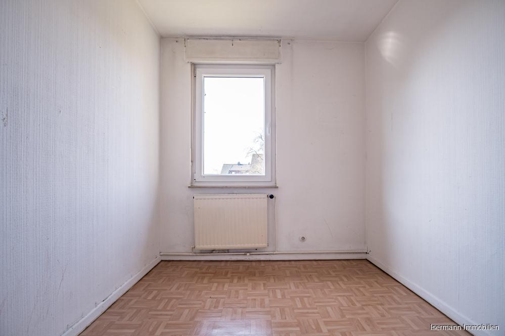 Auch in der oberen Wohnung befinden sich zwei Schlafzimmer.