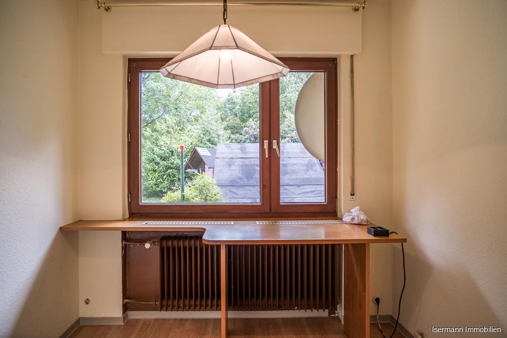 Ein weiterer Raum bietet sich als Büro an.