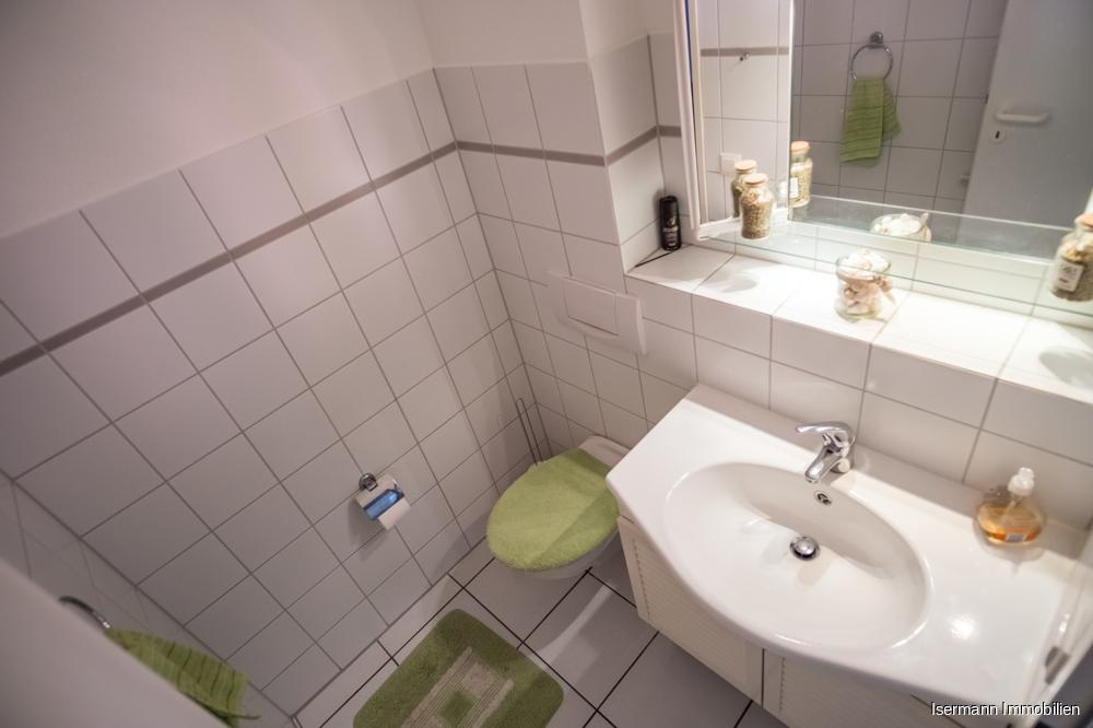 Separates WC für Gäste