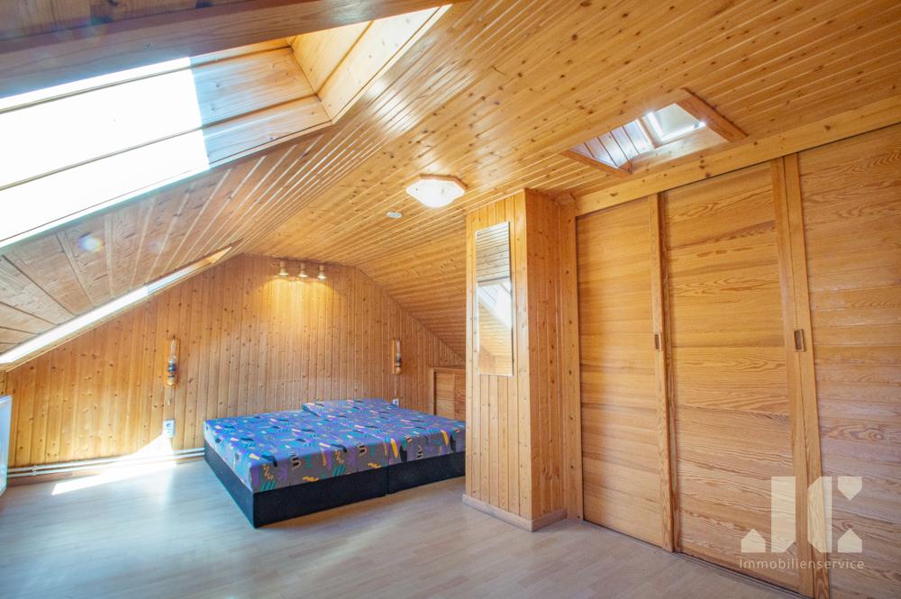 Schlafbereich mit Kleiderschrank Obergeschoss