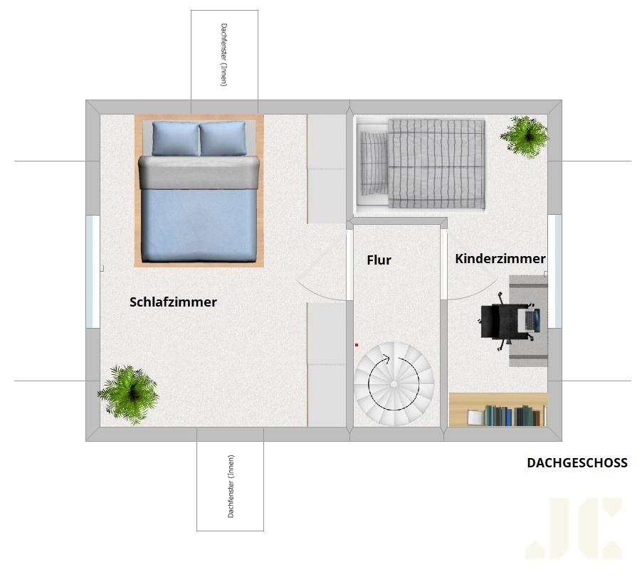 Grundriss Obergeschoss Sandhörn