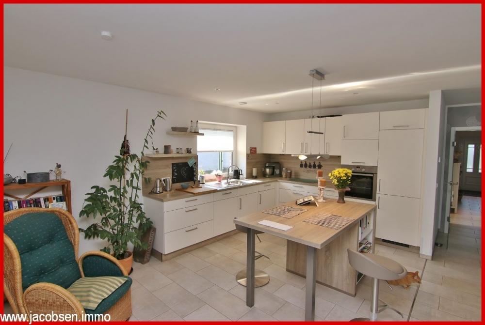 Blick in die  Küche Musterhaus