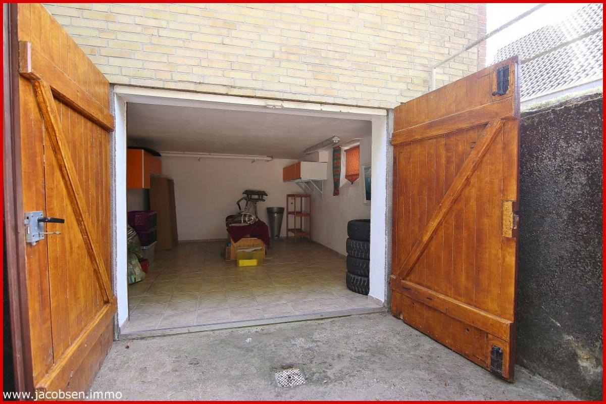 Garage im Keller
