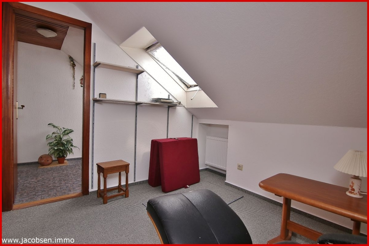 Kleines Zimmer im Dachgeschoss