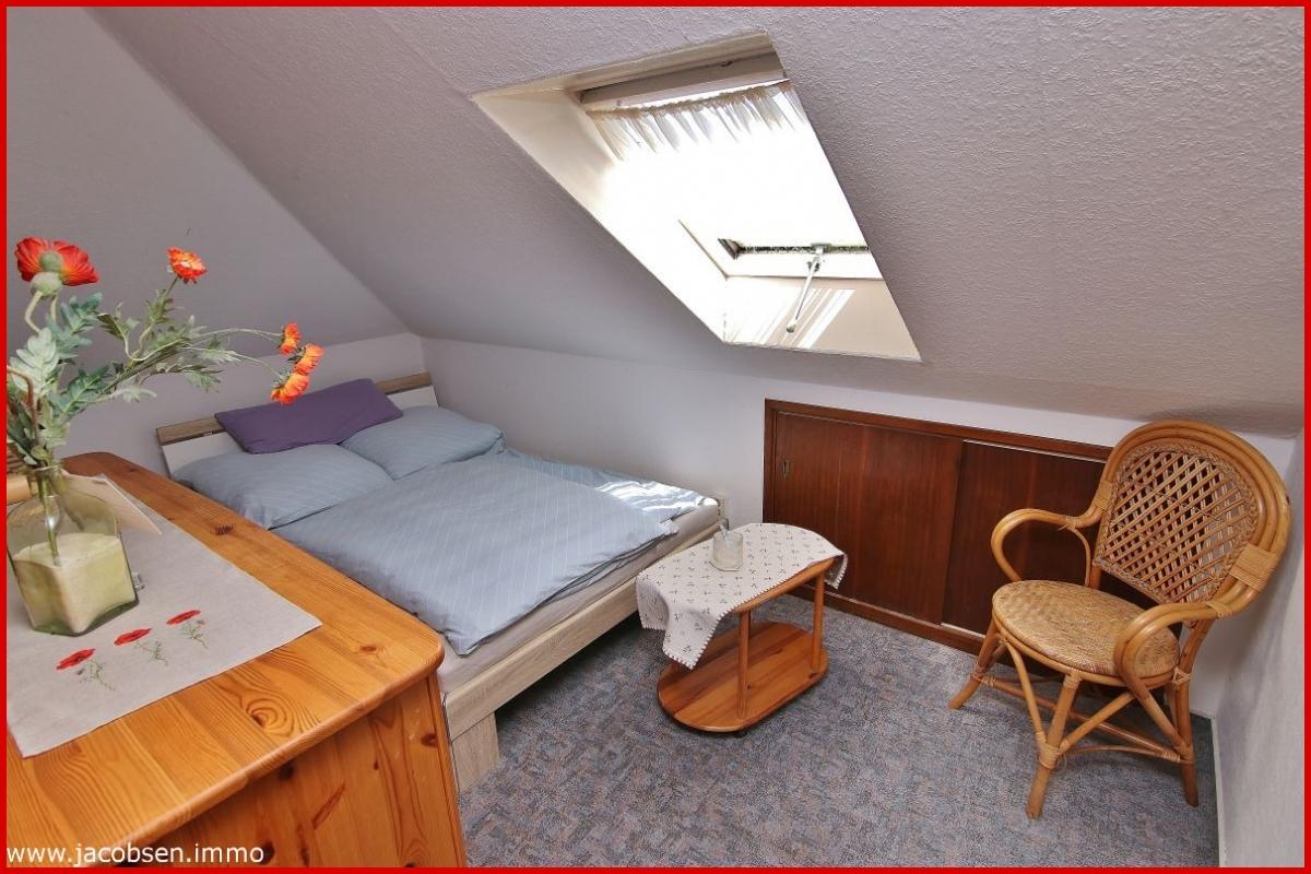 Schlafen im Dachgeschoss
