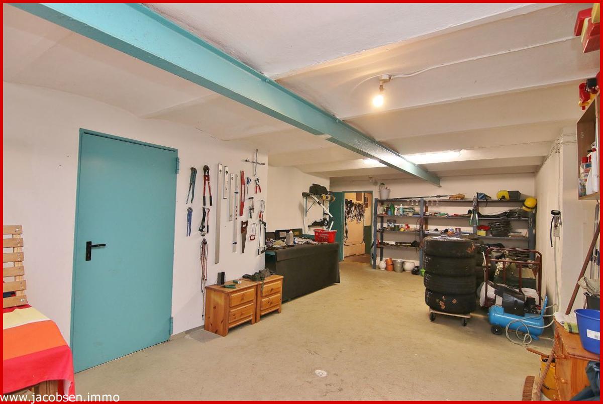 Werkstatt im Erdgeschoss