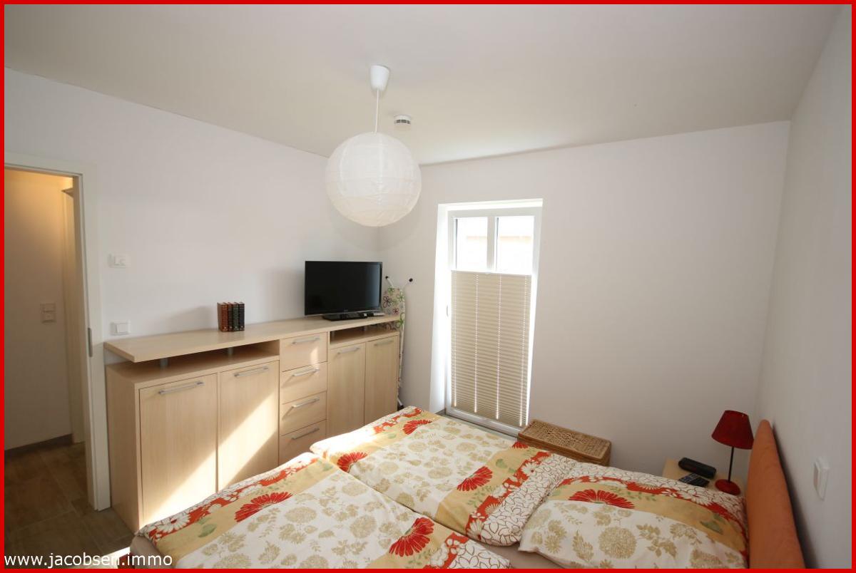 Schlafzimmer im baugleichen Haus