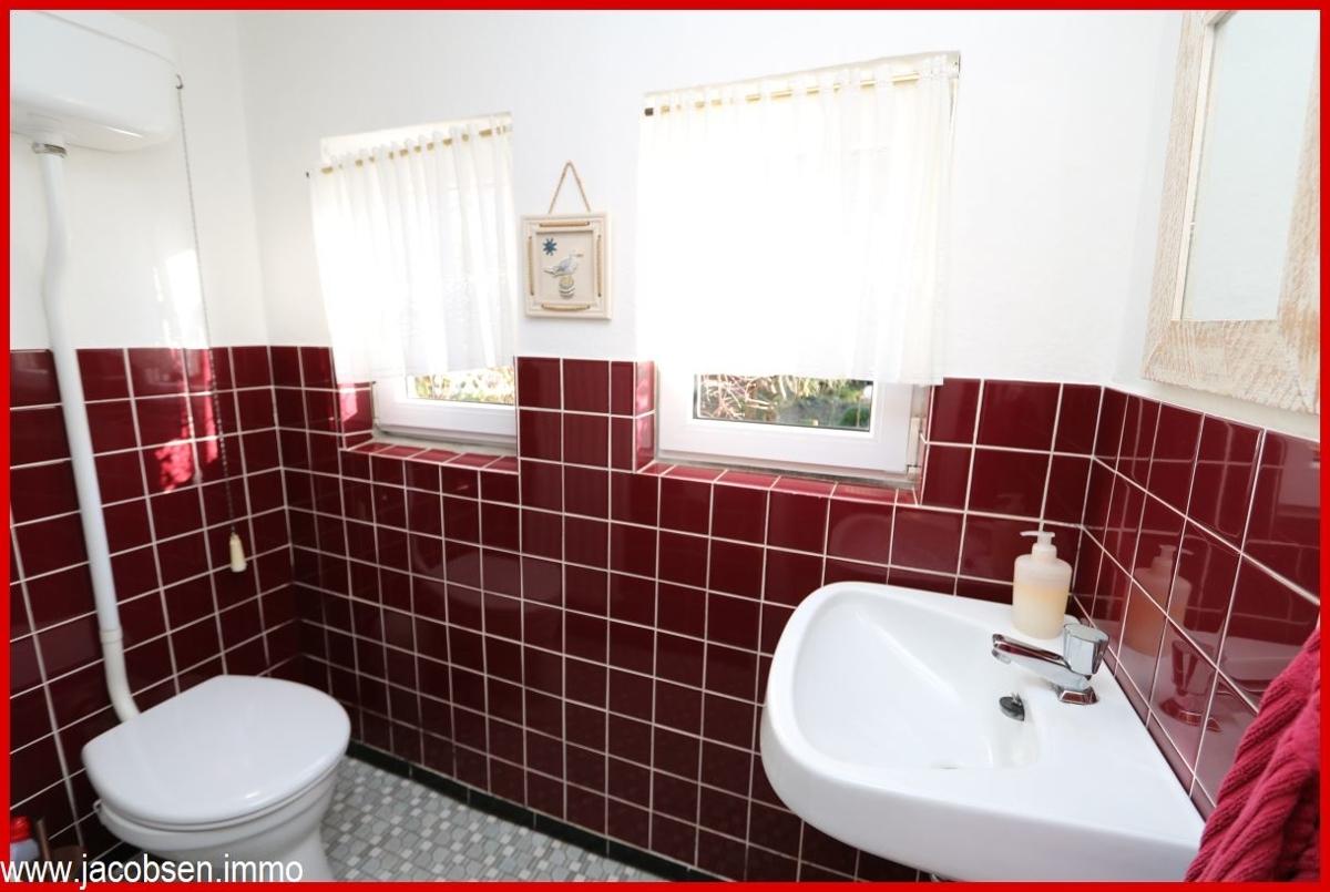 Gäste-WC im Souterrain