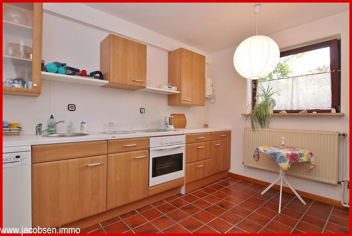 Küche im Souterrain/Keller